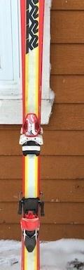 71 – Skis 153cm à vendre